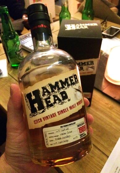 Hammerhead Czech whiskey