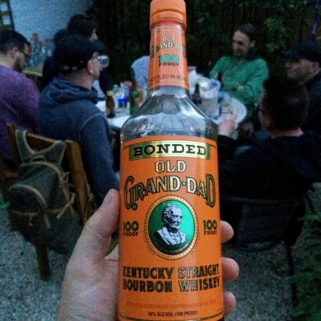 Bourbon by the barbecue